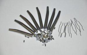 varie dimensione di tubi di precisione in acciaio inox