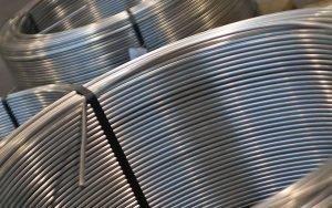 tubi acciaio inox saldati in rotoli