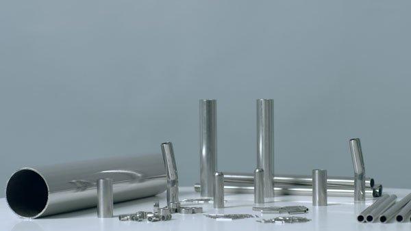 Tubi in acciaio inox saldati e senza saldatura